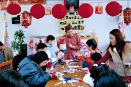012竹紙藝術延伸的文化創意版畫紙燈籠教學